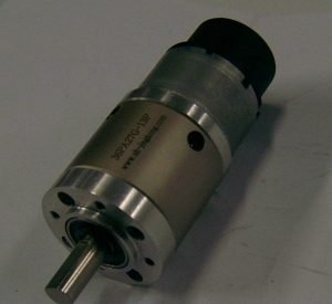 gearbox with DC motors